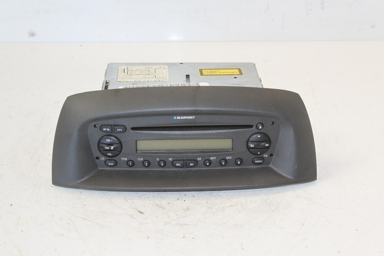 2003 Fiat Punto Blaupunkt Stereo Radio Cd Head Unit With