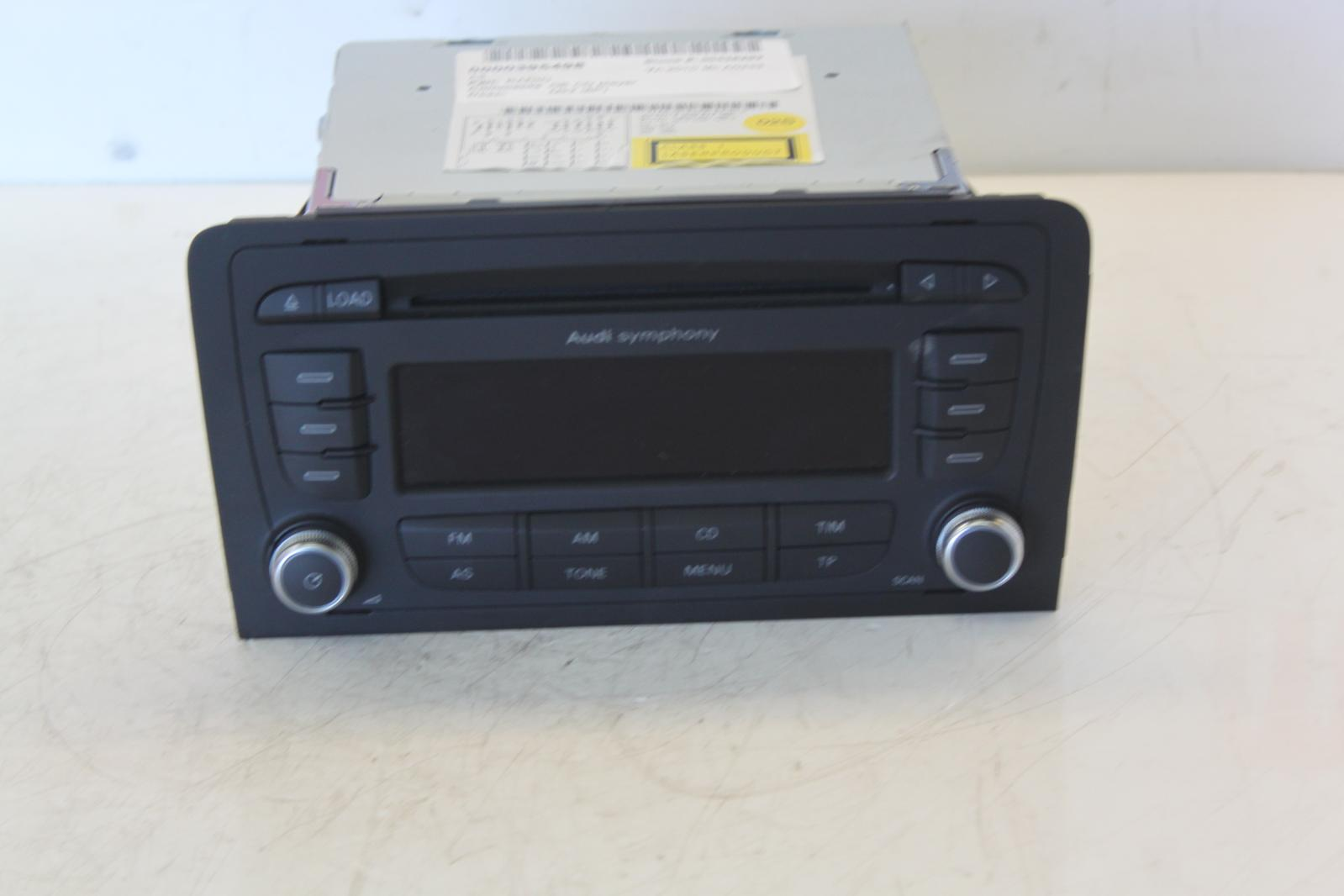 2010 audi a3 8p audi symphony stereo radio cd head unit. Black Bedroom Furniture Sets. Home Design Ideas