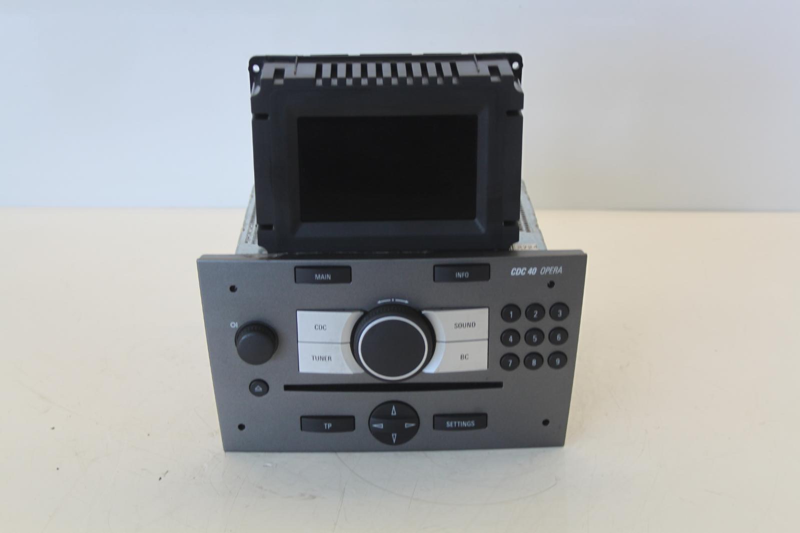 2008 vauxhall vectra c cdc40 stereo radio cd head unit. Black Bedroom Furniture Sets. Home Design Ideas