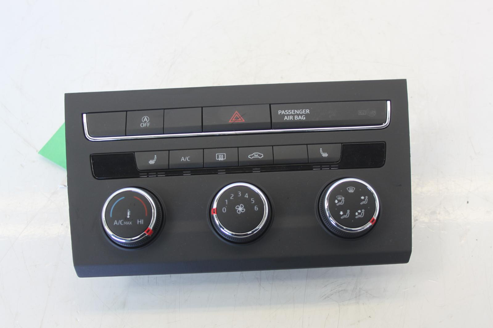 2014 Seat Leon Heater Climate Control Panel With A  C