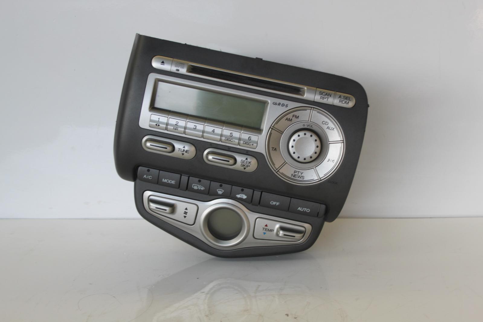 2008 honda jazz stereo radio cd head unit 50106923 tag. Black Bedroom Furniture Sets. Home Design Ideas