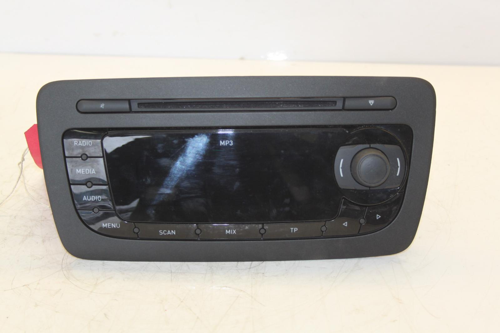 2012 seat ibiza 6j stereo radio cd mp3 head unit tag. Black Bedroom Furniture Sets. Home Design Ideas
