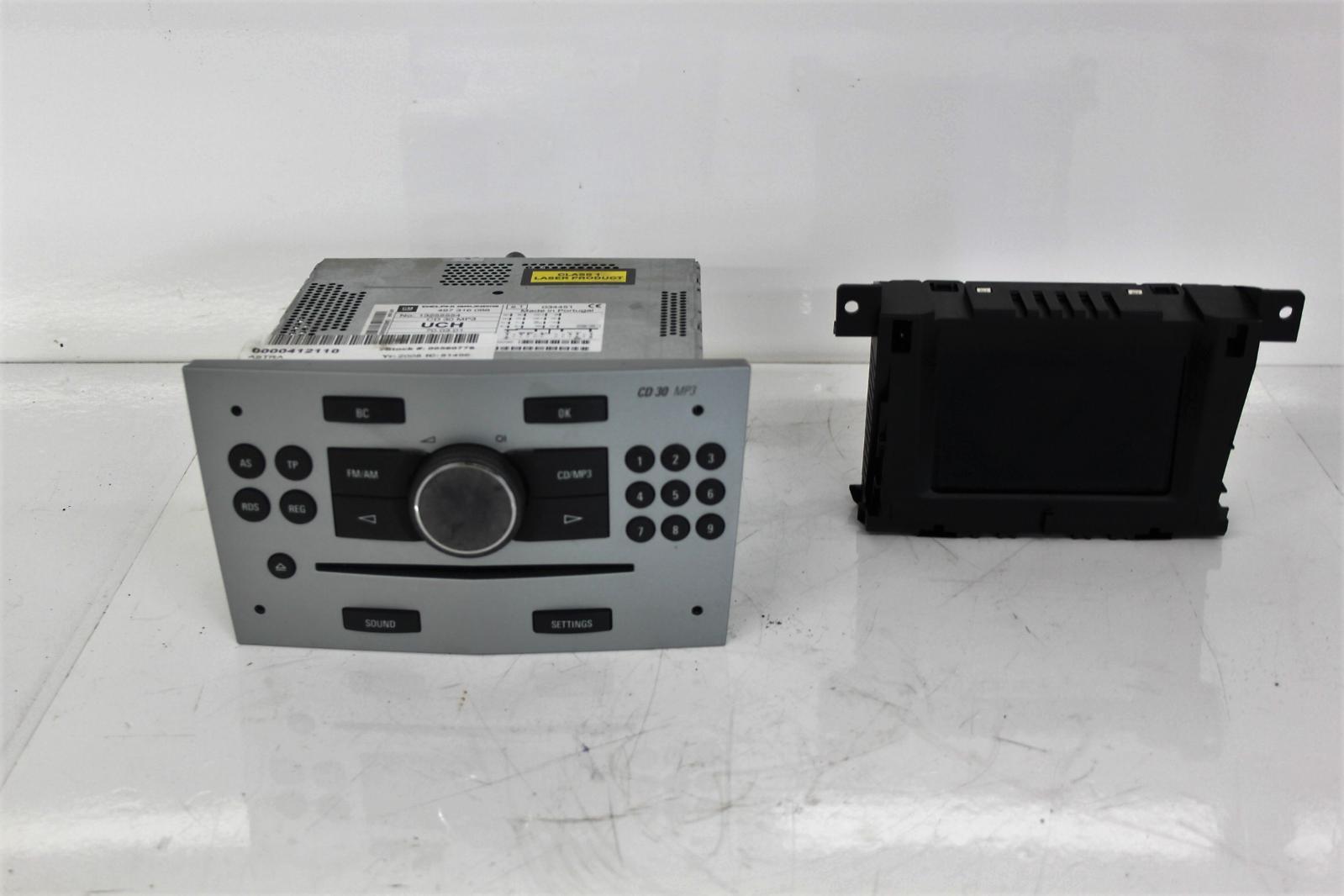 2008 vauxhall astra h cd30 stereo radio cd head unit. Black Bedroom Furniture Sets. Home Design Ideas